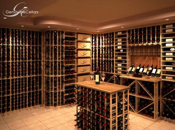 Kit Rack Wine Cellar With Customization, Wine Storage Systems