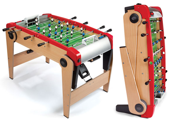 Full Size Foldable Foosball Table For Unlimited Fun Homecrux