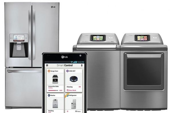 LG's smart home appliances