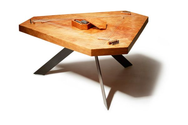 Line of furniture that plays music