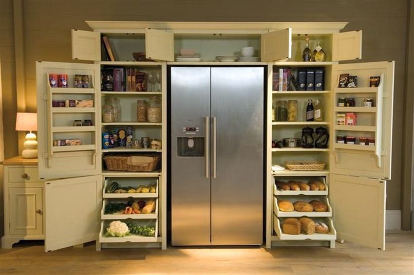 Neptune Grand Larder Unit Kitchen Cabinet