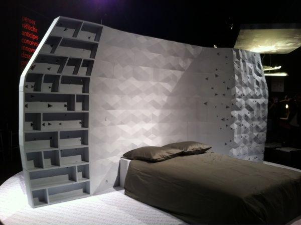 3D printed bedroom