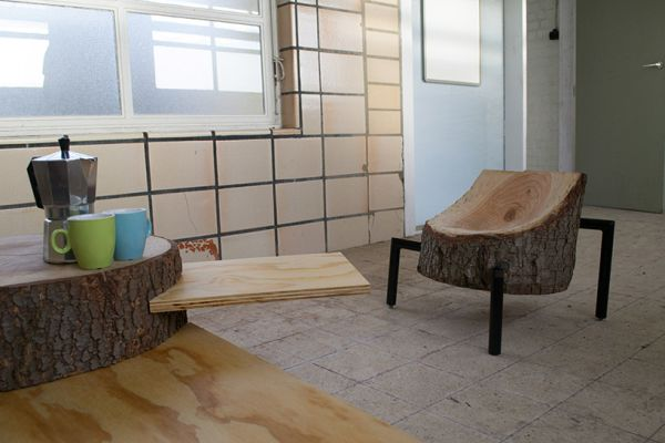 Furniture made from reclaimed wood
