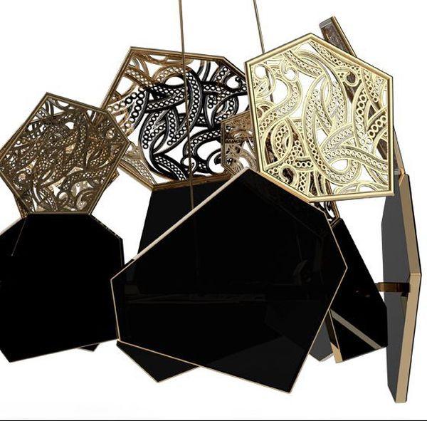 Hypnotic chandelier