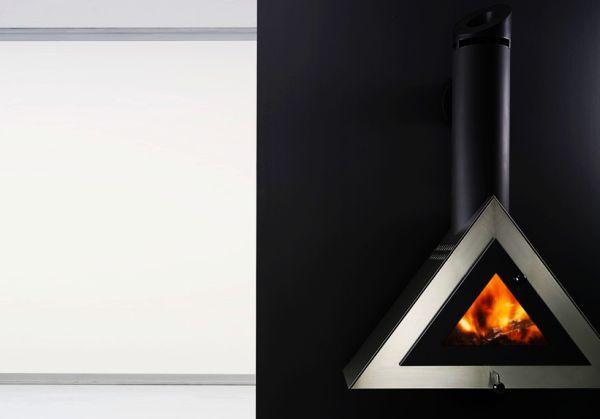 Joker fireplace by Antrax IT