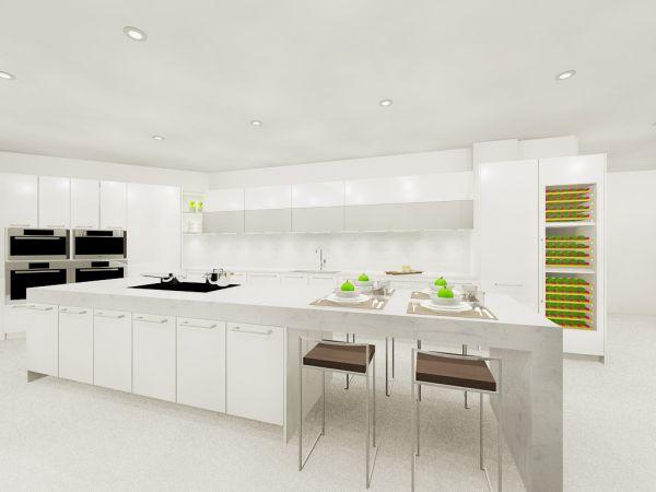 Bellini Williams Island kitchen spaces