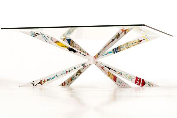 Benjamin Auzier's Clix coffee table