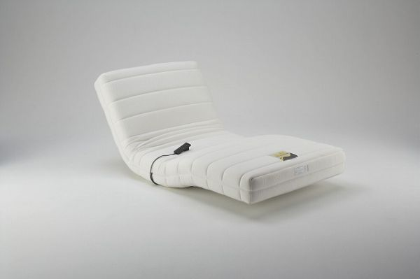 Japanese France Bed creates a motor fueled bed which reclines on both ends