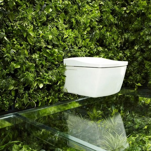 Japanese designers embark on a literally green bathroom