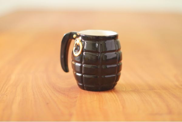 Sootcookie for Wolf & Maiden Grenade Mug