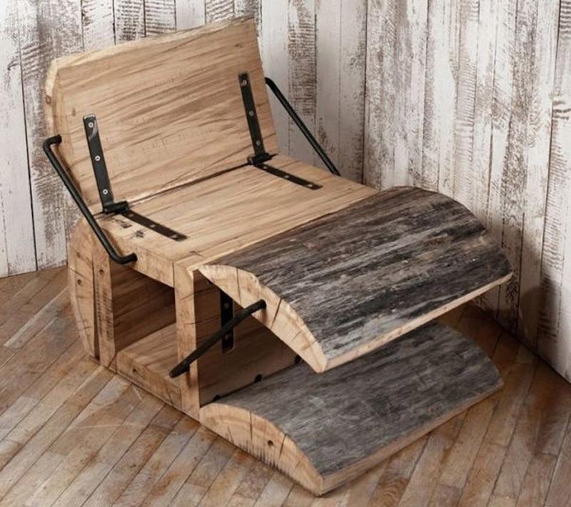 waste-less-log-chair