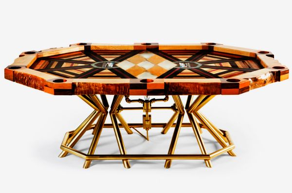 All In most expensive poker table by Akke Functional Art