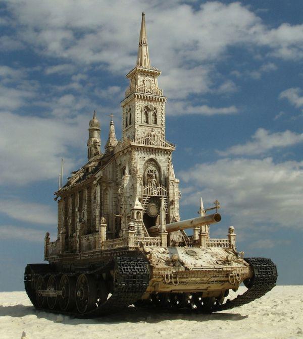 Churchtanks by Kris Kuksi