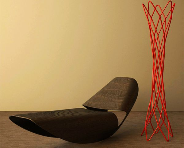 Cowrie Rocker by Brodie Neill for Made in Ratio