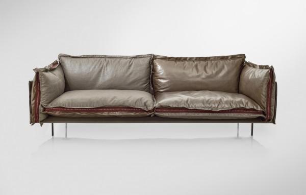 The 'split personality' sofa