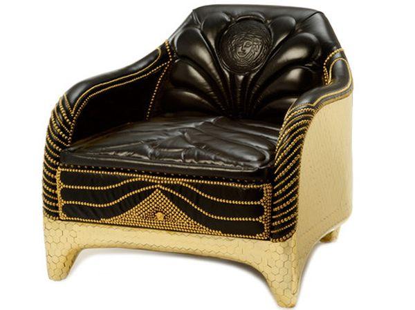 honeycomb club chair