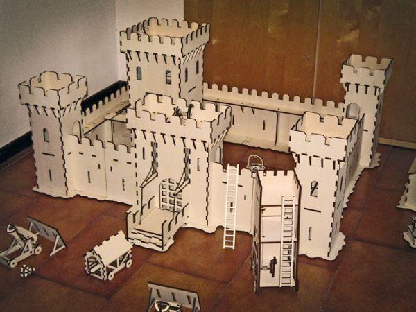 Andrea Garuti's laser-cut 3D models