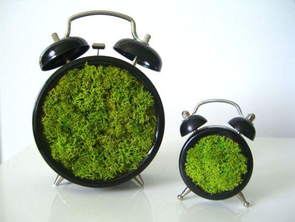 Green Moss art