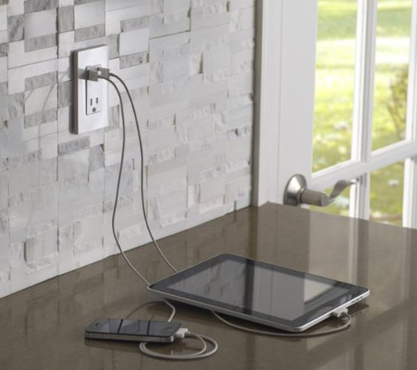 Leviton's built-in USB charger