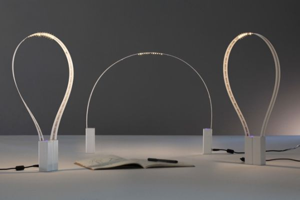Martinelli Luce's Fluida LED lamp