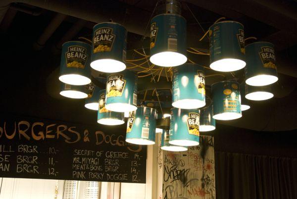 Willem Heeffer's Heinz Beanz chandelier