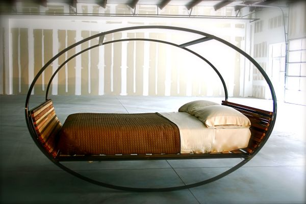 Joe Manus's Mood Rocking Bed