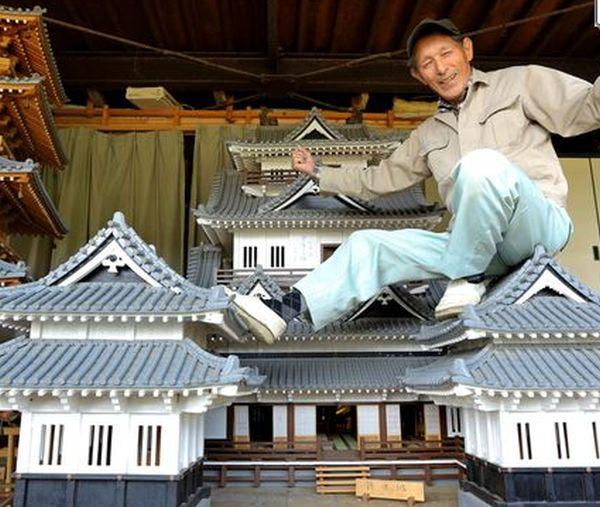Miniature Takeda Castle