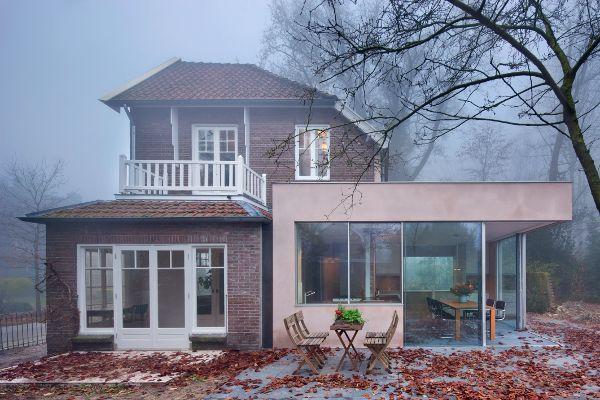 Zero-carbon house by Zecc Architecten