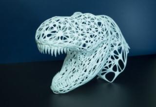 3D-REX sculpture by Namisu