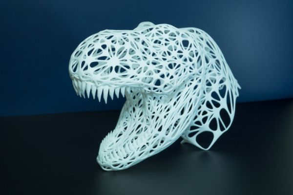 3D-REX sculpture by Namisu