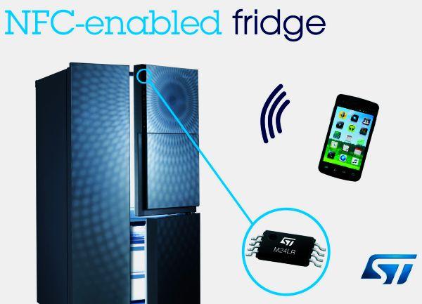 Dongbu Daewoo NFC enabled refrigerator