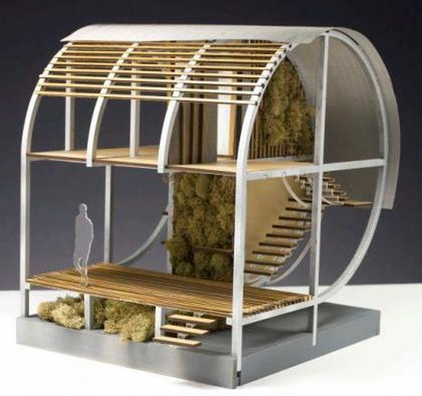 Gabriel Wartofsky's self-sustaining shelter