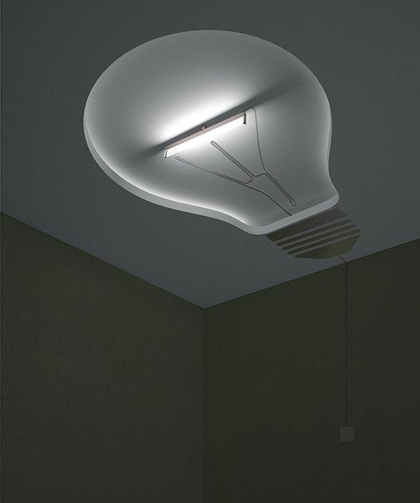 LED chandelier by Kulyev