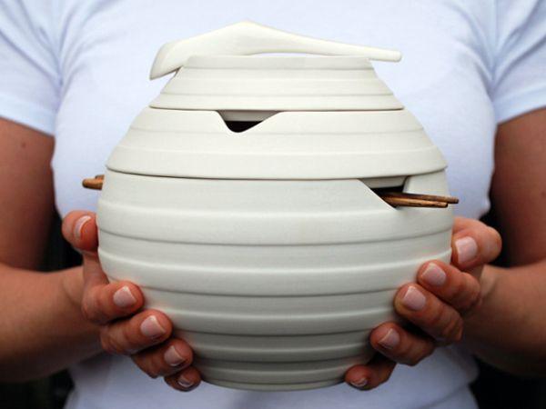 Omid Sadri's Lantern tableware