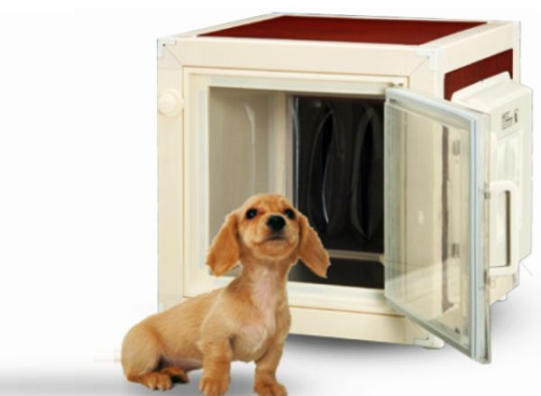 Air-conditioned Dog House by MRT Corp