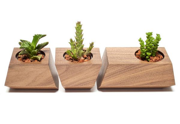 Boxcar planters by Joe Gibson