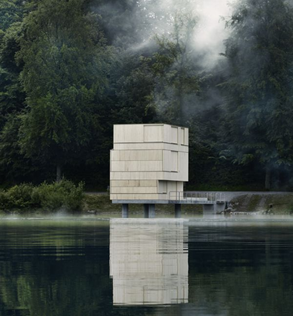 Lake Rotsee Refuge by AFGH Architekten