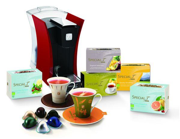 Nestle's Special T tea maker