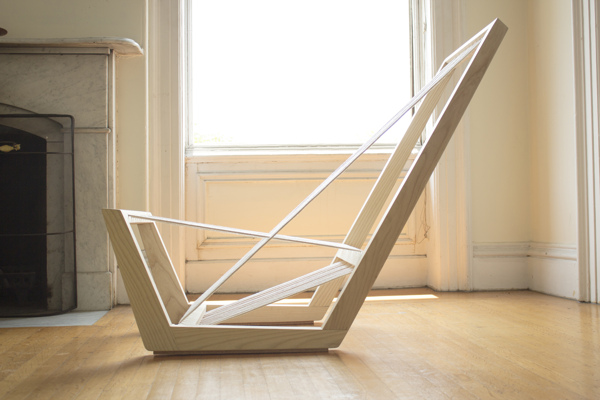 Single Cord Lounge by Josh Shiau
