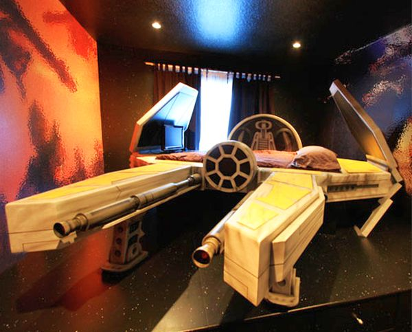 Six Star Wars inspired beds