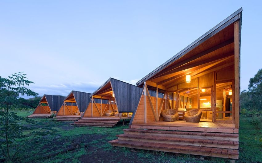 Cabañas Morerava in Easter Island, Spain