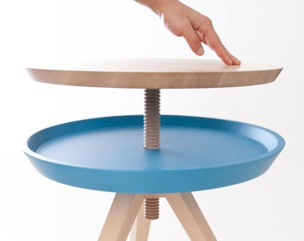 Giros shape changing side table