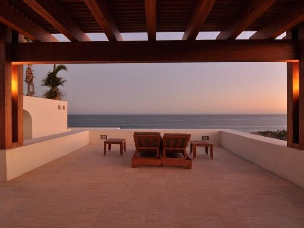 Ocean front hacienda in Mexico