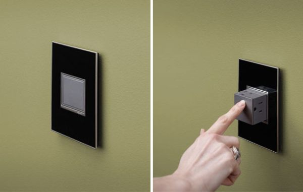 Adorne Pop-Out One Touch Electrical Outlet