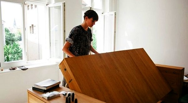Workbed Transformer Furniture by Mira Schroder