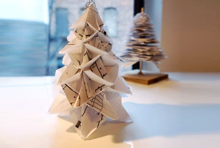 Origami Christmas Tree by Candy Chan
