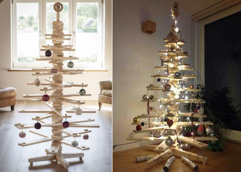 Timbatree: Wooden Christmas Tree You can Use over the Years
