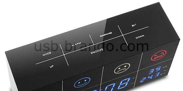 Brando Air Quality Tester Alarm Clock