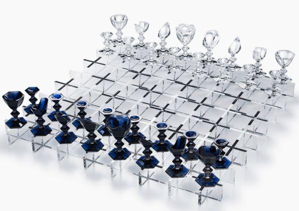 Nendo Baccarat Harcourt chess set