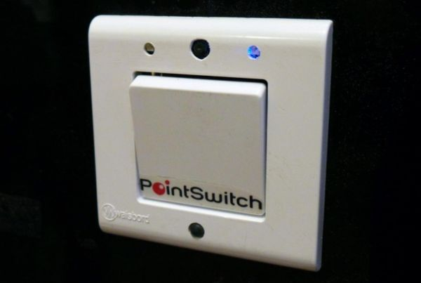 Gesture controlled switch